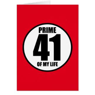 41 -私の生命の全盛 カード