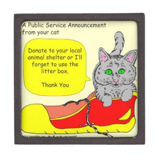 420は動物保護施設の漫画に寄付します ギフトボックス