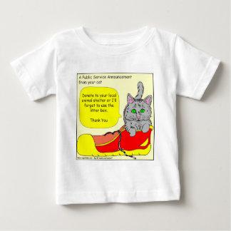 420は動物保護施設の漫画に寄付します ベビーTシャツ