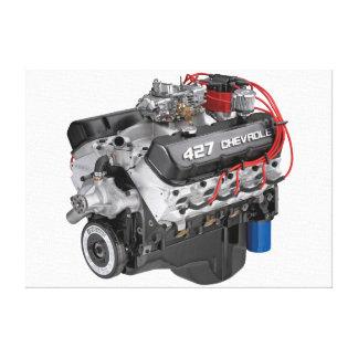 427 Chevyの大きいブロックエンジン キャンバスプリント