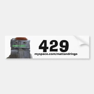 429 バンパーステッカー