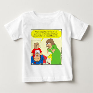 434のお尻の一流のワイシャツの漫画 ベビーTシャツ