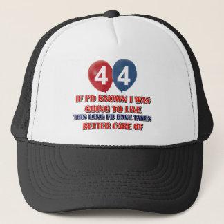 44年のデザイン キャップ