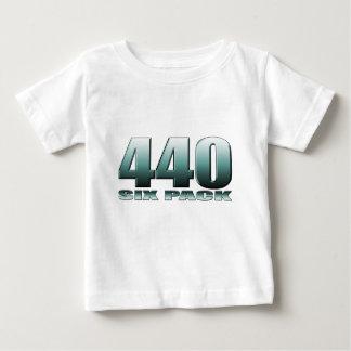 440 6つのパックのmoparごまかし ベビーTシャツ