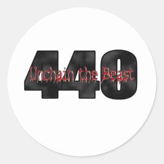 440 Moparの獣 ラウンドシール