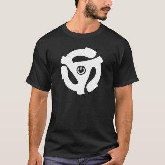 45のRPM力のアダプター Tシャツ