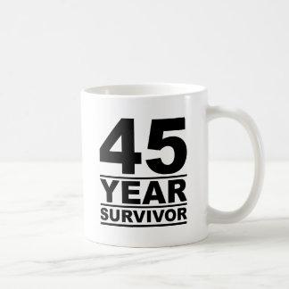 45年の生存者 コーヒーマグカップ