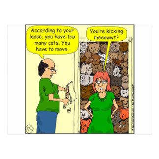 451蹴るmeeowwtの漫画 ポストカード