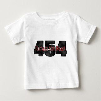 454大きいブロックの獣 ベビーTシャツ