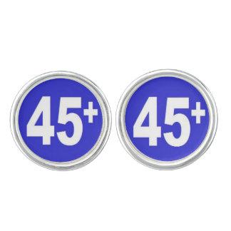 45+ カフスボタン