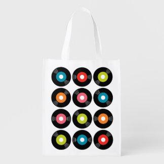 45s記録的で再使用可能な買い物袋 エコバッグ
