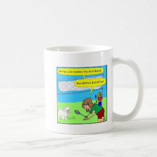 474悪い状態のミトンの漫画 コーヒーマグカップ