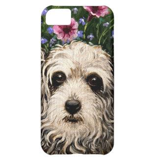 4796b犬及びペチュニアの民芸 iPhone5Cケース