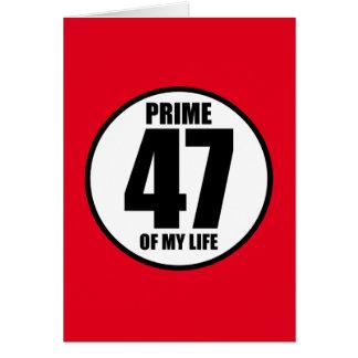 47 -私の生命の全盛 カード