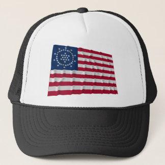 48星の旗、Whippleの平和旗 キャップ