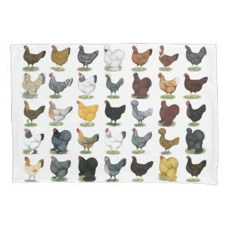 49羽の鶏の雌鶏 枕カバー