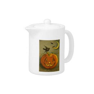 4923ハロウィンの茶ポット