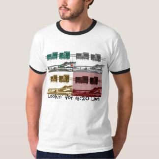 4:20愛のためのLookin Tシャツ