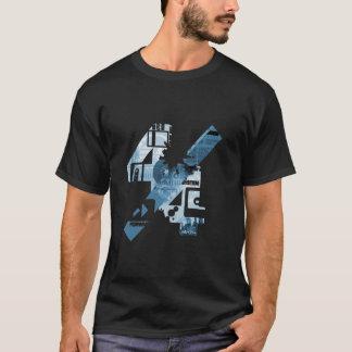 4/4 (Black&Blue) Tシャツ