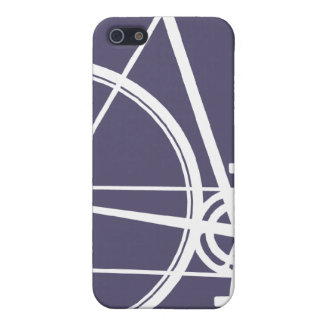 4/4S紫色周期 iPhone 5 ケース