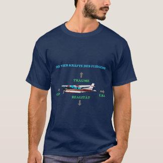 4 Kräfte des FliegensのTシャツ Tシャツ