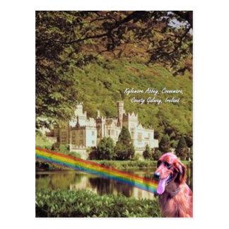 4. Kylemoreの大修道院アイルランド-デザイン#2 ポストカード