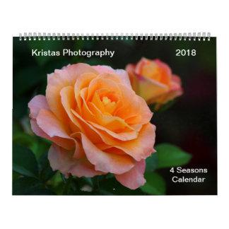 4 Season Calendar 2018 5m カレンダー