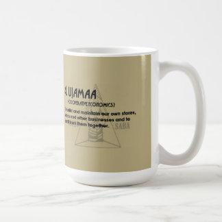 4. UJAMAA Kwanzaaのマグ コーヒーマグカップ
