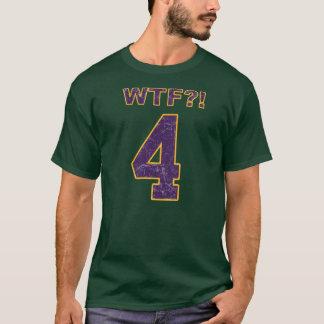 #4 WTFか。! ブレット・ファーヴのバイキングか。 Tシャツ