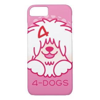 4dogsカラーアイコン iPhone 8/7ケース