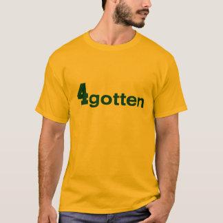 4gotten -金ゴールドの人のT Tシャツ