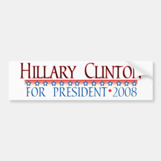 4prezクリントン バンパーステッカー