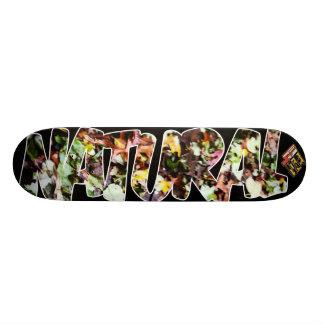 4ten: 自然(葉) 19.7cm スケートボードデッキ