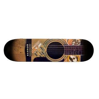 4ten: Bmoreのギター(Robの白) スケートボードデッキ