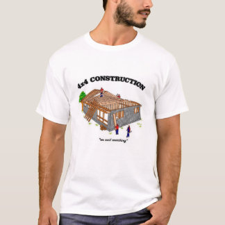 4X4建築 Tシャツ
