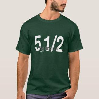 5および半分 Tシャツ