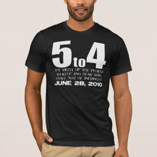 5から4 -第2修正の生命! Tシャツ