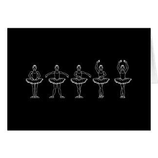 5つのバレエ位置 カード
