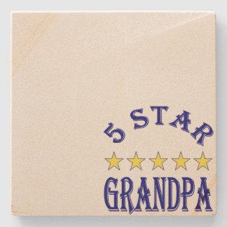 5つの星の祖父 ストーンコースター