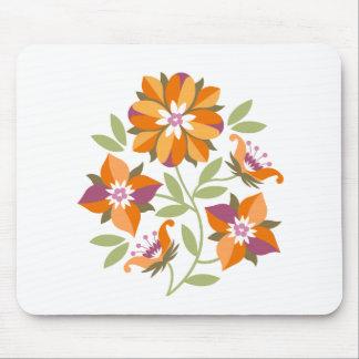 5つの花のマウスパッド マウスパッド