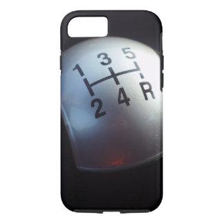 5つの速度のギア転位のノブ iPhone 8/7ケース