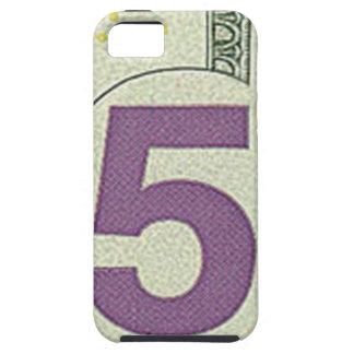 5ドル札のiPhone 5の場合 iPhone SE/5/5s ケース