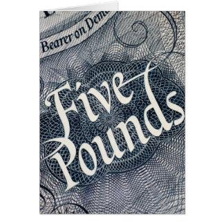 5ポンド カード