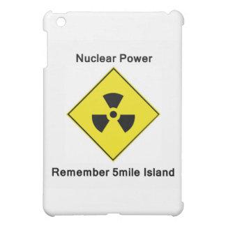 5マイルの島の反核ロゴを覚えて下さい iPad MINIケース