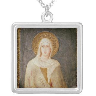 5人の聖者、St.ドクレアの詳細 シルバープレートネックレス