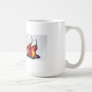 5個の傾斜のナシのコーヒー・マグ コーヒーマグカップ