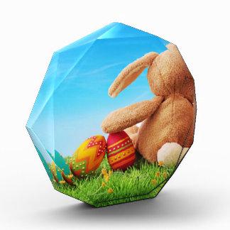 5個の卵が付いているバニーウサギ 表彰盾