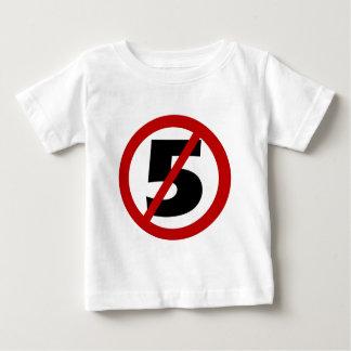 5大きい8無しx 8 ベビーTシャツ