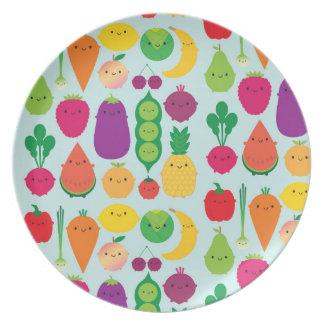 5日のフルーツ及び野菜 ディナープレート