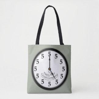 5時の時計 トートバッグ